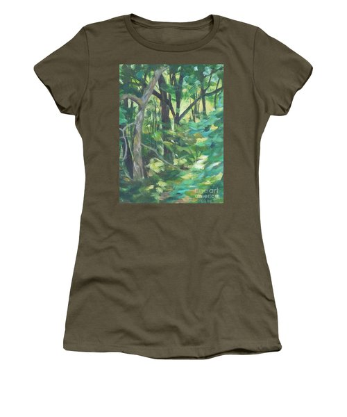 Sunlit Backyard Women's T-Shirt