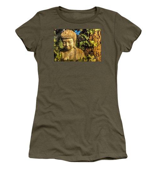 Sunlit Buddha 2015 Women's T-Shirt