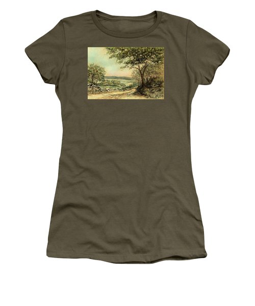 Sunny Bushveld Women's T-Shirt (Junior Cut) by Heidi Kriel