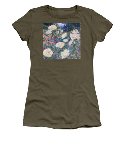 Sunny Day At The Rose Garden Women's T-Shirt