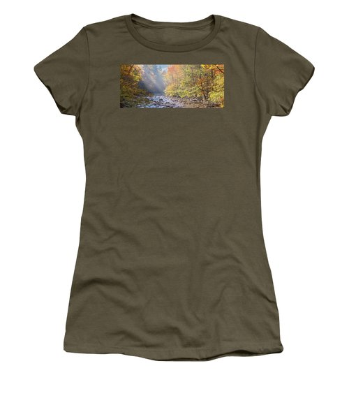 Sunrise At Metcalf Bottoms Women's T-Shirt (Athletic Fit)