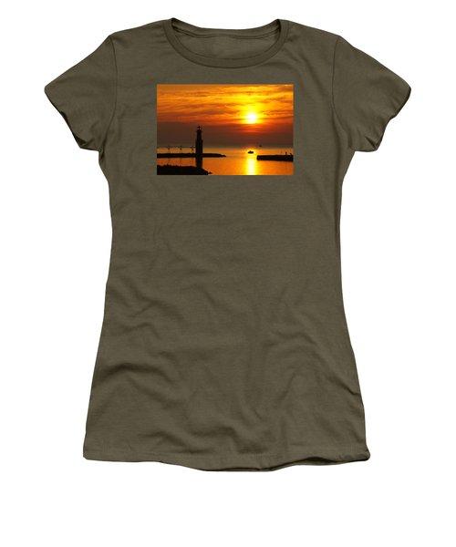 Sunrise Brushstrokes Women's T-Shirt