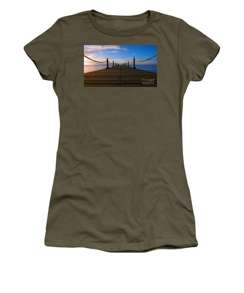 Sunrise Morning Bliss Pier 140a Women's T-Shirt