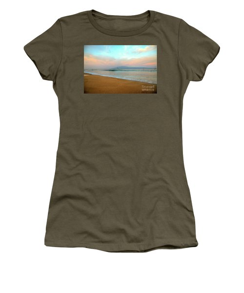 Sunrise On Ka'anapali Women's T-Shirt (Athletic Fit)