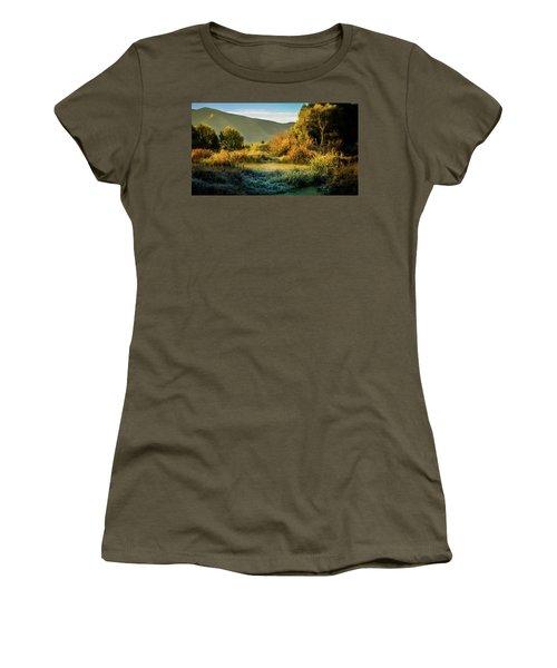 Sunrise On The Duck Marsh Women's T-Shirt
