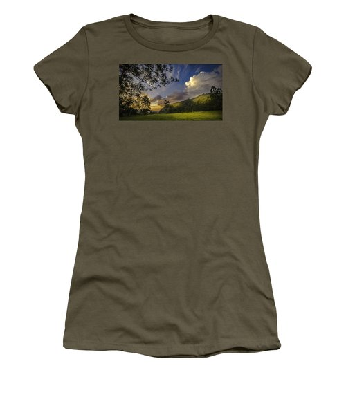 Sunset At Cocora Women's T-Shirt