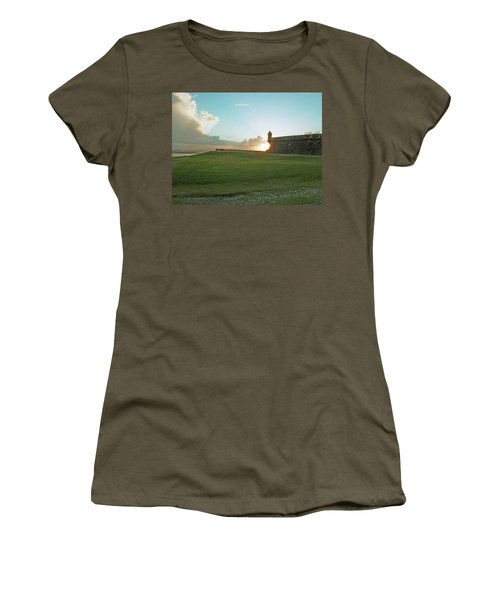 Sunset At El Morro Women's T-Shirt