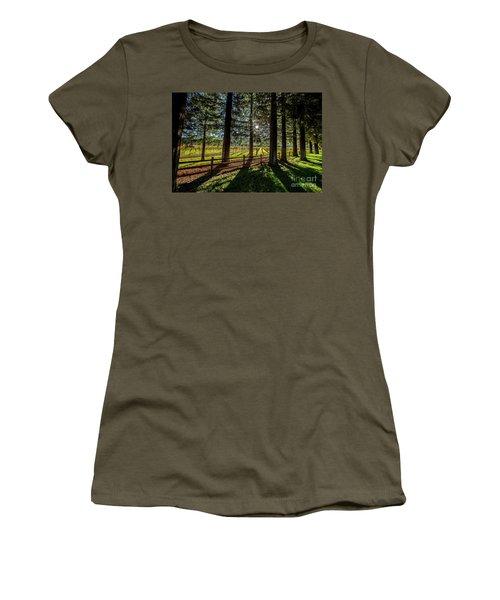 Sunset At Far Niente Women's T-Shirt