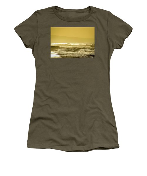 Sunset Beach Aglow  Women's T-Shirt