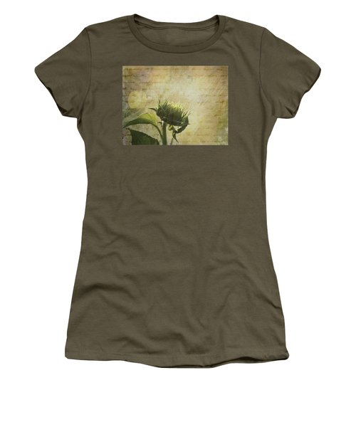 Women's T-Shirt featuring the photograph Sunset Beginnings by Melinda Ledsome