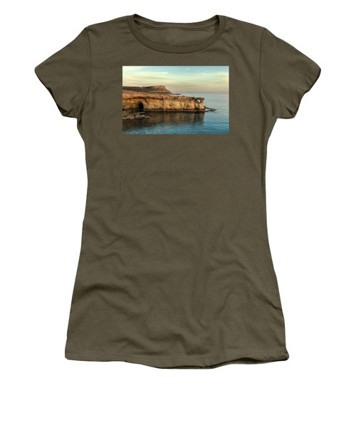 Sunset By The Cape Women's T-Shirt (Athletic Fit)