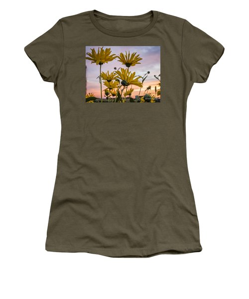 Sunset Delight Women's T-Shirt (Athletic Fit)