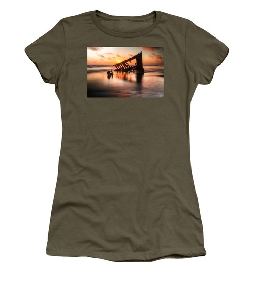 Sunset Glow 0016 Women's T-Shirt (Athletic Fit)