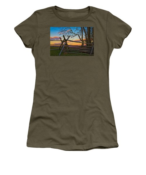 Sunset In Antietam Women's T-Shirt