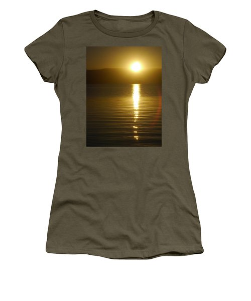 Sunset In January Women's T-Shirt (Athletic Fit)
