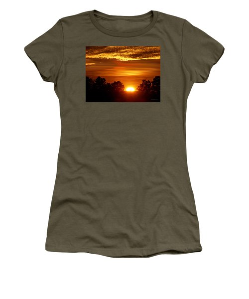 Sunset In Sonoma County Women's T-Shirt (Athletic Fit)