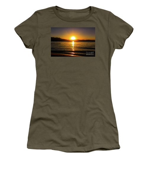 Sunset Lake 1 Women's T-Shirt