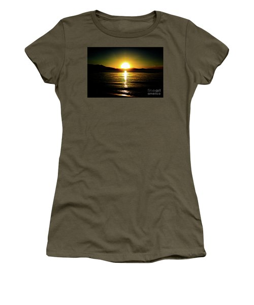 Sunset Lake 2 Women's T-Shirt