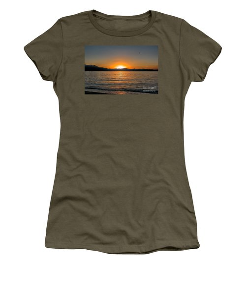 Sunset Lake 3 Women's T-Shirt