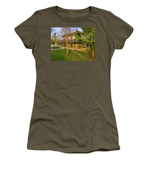 Sunset On The Cabin Women's T-Shirt