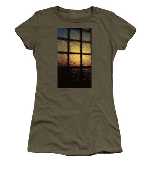 Sunset Orange Women's T-Shirt