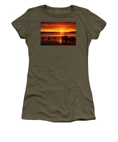 Sunset Surprise Women's T-Shirt (Athletic Fit)