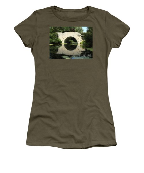 Sunshine Bridge 4 Women's T-Shirt (Junior Cut) by Erick Schmidt