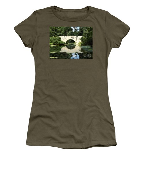 Sunshine Bridge 7 Women's T-Shirt (Junior Cut) by Erick Schmidt