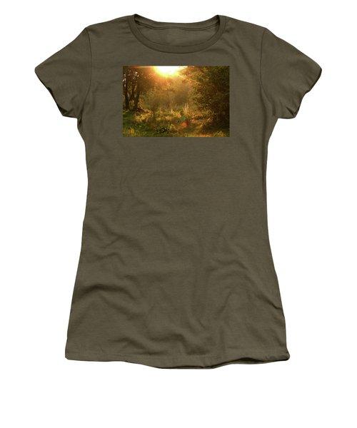 Sunshine In The Meadow Women's T-Shirt (Junior Cut) by Emanuel Tanjala