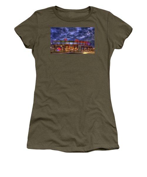 Suntrust Park Unfinished Atlanta Braves Baseball Art Women's T-Shirt