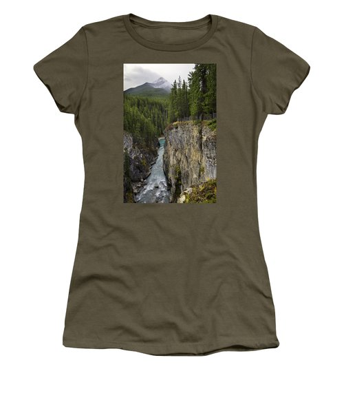 Sunwapta Falls Canyon Women's T-Shirt