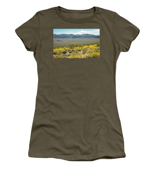 Superbloom Paradise Women's T-Shirt (Junior Cut) by Amyn Nasser