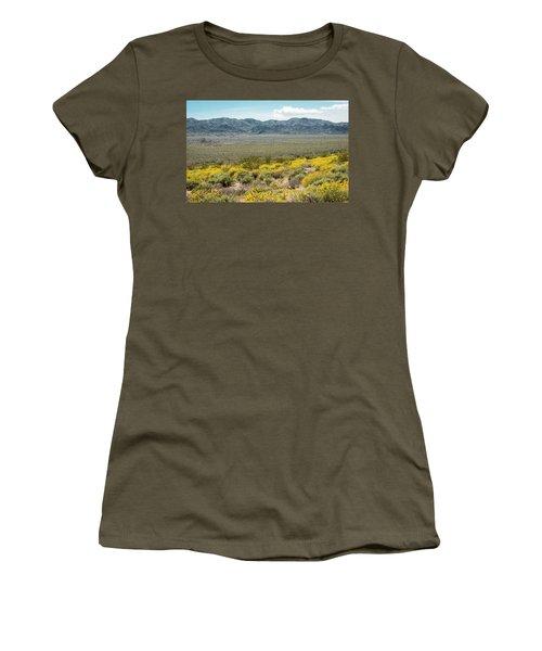 Superbloom Paradise Women's T-Shirt (Junior Cut) by Amyn Nasser