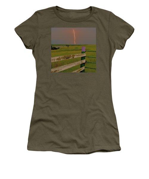 Superbolt At Melvern Lake Women's T-Shirt