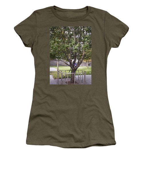 Survivor Tree Women's T-Shirt (Athletic Fit)