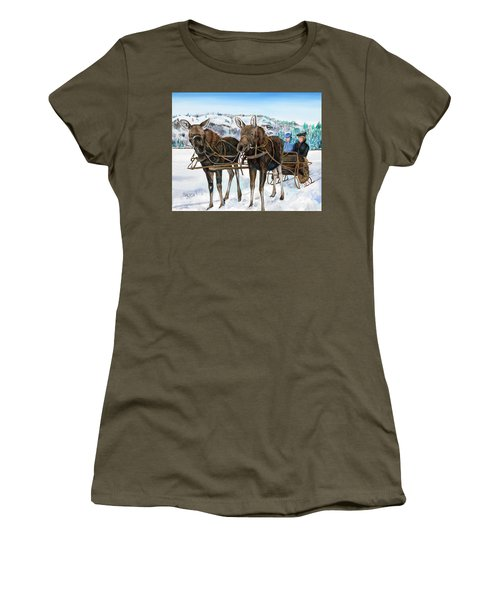 Swamp Donkies Women's T-Shirt (Athletic Fit)