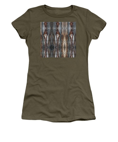 Sweet Faces Seen On A Picket Fence Women's T-Shirt
