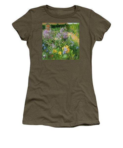 Sweet Rocket - Foxgloves And Irises Women's T-Shirt