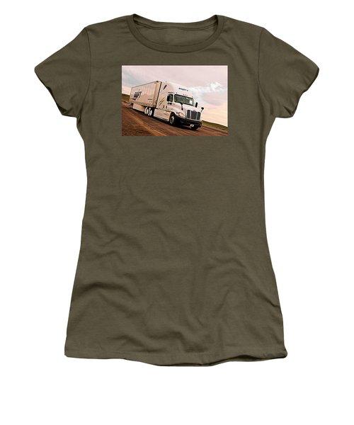 Swift Digital Art Painting #2b Women's T-Shirt (Athletic Fit)