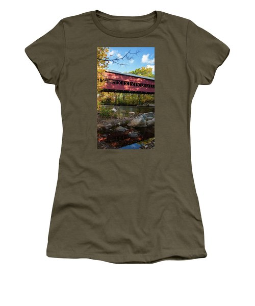 Swift River Covered Bridge Women's T-Shirt