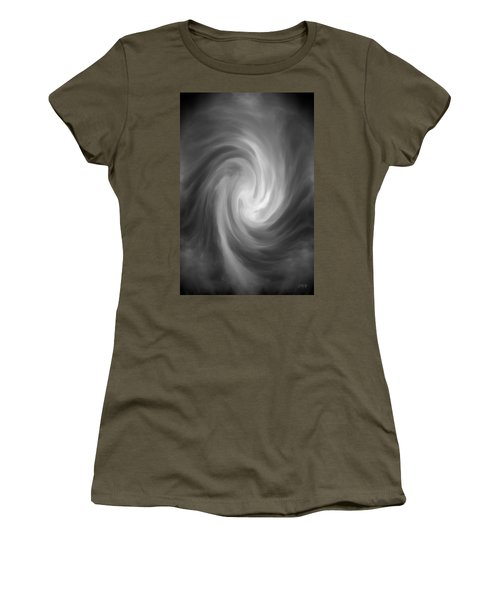 Women's T-Shirt featuring the photograph Swirl Wave Iv by David Gordon