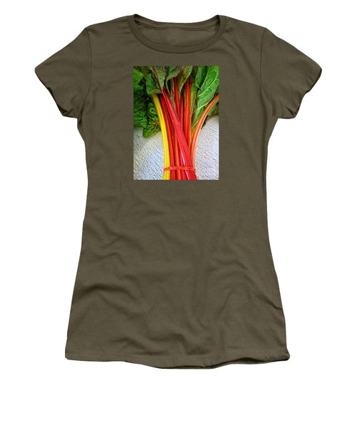 Swiss Chard Women's T-Shirt (Athletic Fit)