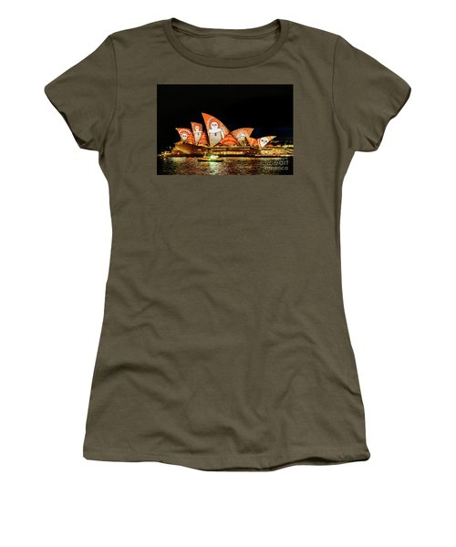 Ochre On Opera Women's T-Shirt (Junior Cut)