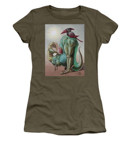 Symbiotics Women's T-Shirt (Athletic Fit)