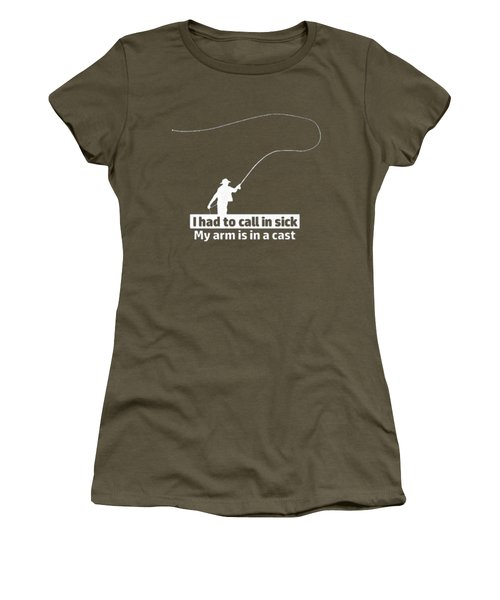 T Had To Call Stick Women's T-Shirt (Athletic Fit)