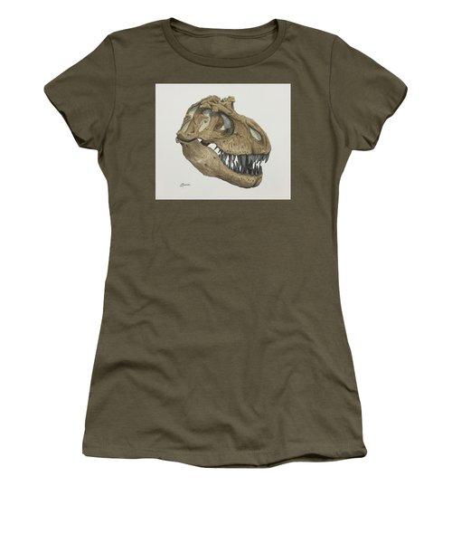 T. Rex Skull 2 Women's T-Shirt