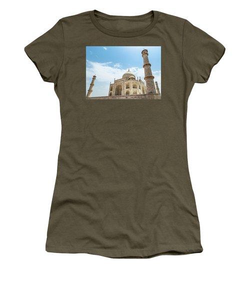 Women's T-Shirt featuring the photograph Taj Mahal by Chris Cousins