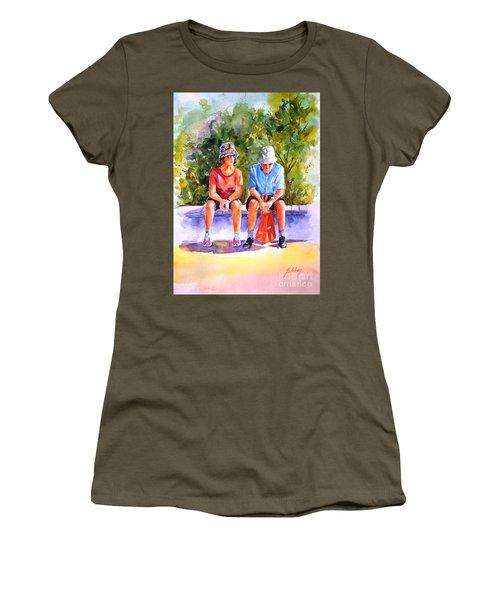 Taking A Rest - 2 Women's T-Shirt