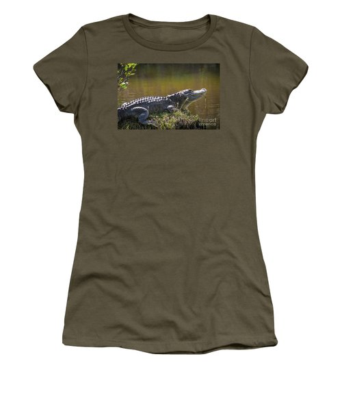 Taking In The Sun Women's T-Shirt (Athletic Fit)