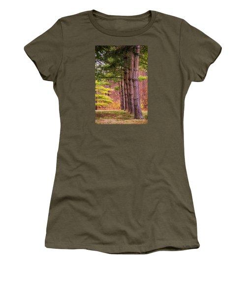 Tall Pines Standing Guard Women's T-Shirt